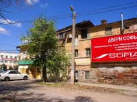 Astrakhan, Admiralteyskaya st, house 54. Apartment house