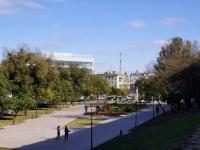 Астрахань, площадь Октябрьская, парк