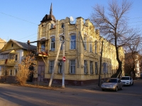 Astrakhan, Enzeliyskaya st, house 1. Apartment house