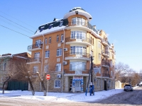 Astrakhan, Enzeliyskaya st, house 5. Apartment house