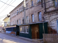Astrakhan, Sverdlov st, house 14. Apartment house with a store on the ground-floor