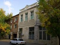 Астрахань, улица Фиолетова, дом 1. многоквартирный дом