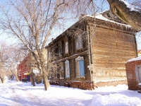 Astrakhan, Bulvarny alley, house 1. Apartment house
