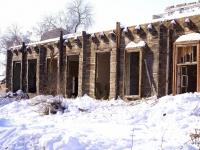 Astrakhan, Maksim Gorky st, house 59. vacant building