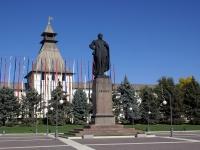 Астрахань, площадь Ленина. памятник В.И. Ленину