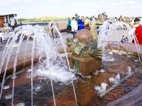 Astrakhan, fountain РыбкаNaberezhnaya reki Volgi st, fountain Рыбка