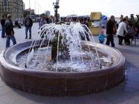 Astrakhan, Naberezhnaya reki Volgi st, fountain