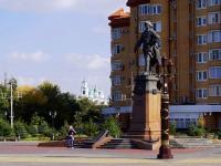 阿斯特拉罕, 纪念碑 Петру ПервомуPetr Pervy sq, 纪念碑 Петру Первому