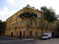 Астрахань, улица Урицкого, дом 7. многофункциональное здание