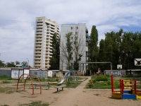 Astrakhan, Vorobiev Ln, house 5 к.1. building under construction