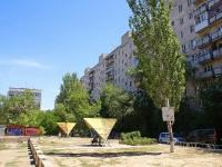 Астрахань, проезд Воробьева, дом 11. многоквартирный дом