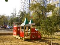 Астрахань, улица Звездная, дом 3 к.1. многоквартирный дом
