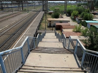 Astrakhan, Железнодорожная платформаZvezdnaya st, Железнодорожная платформа