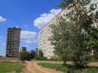 Astrakhan, Zvezdnaya st, building under construction