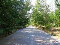 Astrakhan, Zvezdnaya st, public garden