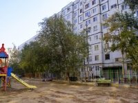 Astrakhan, Kubanskaya st, house 21. Apartment house