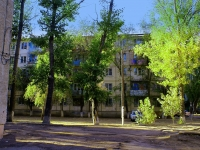 Astrakhan, Admiral Nakhimov st, house 38. Apartment house