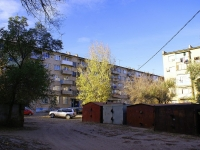Astrakhan, Aleksandrov st, house 7. Apartment house with a store on the ground-floor