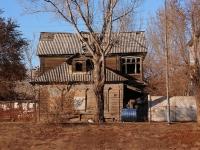 Astrakhan, Naberezhnaya pervogo maya st, house 27. vacant building