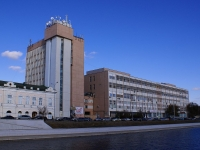Astrakhan, Naberezhnaya pervogo maya st, house 75. office building