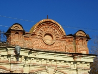 Astrakhan, Naberezhnaya pervogo maya st, house 97. Apartment house with a store on the ground-floor