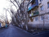 Astrakhan, Ber st, house 55. Apartment house