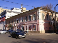 Astrakhan, Shaumyan st, house 51. Apartment house with a store on the ground-floor