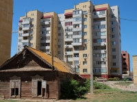 Астрахань, улица Бакинская, дом 4 к.1. многоквартирный дом