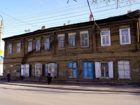 Astrakhan, Pleshcheev st, house 114. Apartment house
