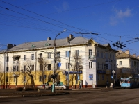 Astrakhan, Ostrovsky st, house 47. Apartment house