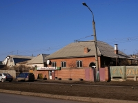 Astrakhan, Ostrovsky st, house 91. Apartment house with a store on the ground-floor
