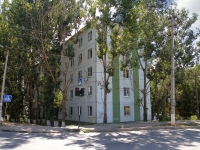 Astrakhan, Ostrovsky st, house 123. Apartment house