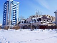Астрахань, улица Набережная Приволжского Затона, дом 27. офисное здание