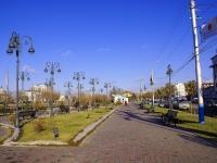 neighbour house: st. Naberezhnaya privolzhskogo zatona. public garden им. Гейдара Алиева