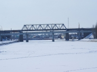 Астрахань, улица Набережная Приволжского Затона, мост