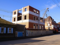 Astrakhan, Boevaya st, house 14. building under construction