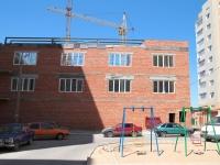 Astrakhan, Boevaya st, building under construction