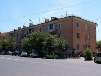 Astrakhan, Bogdan Khmelnitsky st, house 33. Apartment house with a store on the ground-floor