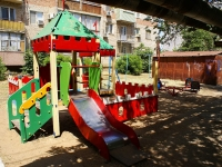 Astrakhan, Bogdan Khmelnitsky st, house 38 к.1. Apartment house