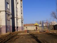 Astrakhan, Dzhon Rid st, house 39 к.1. Apartment house