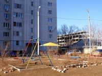 Astrakhan, Dzhon Rid st, house 39. Apartment house