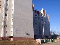 Astrakhan, Dzhon Rid st, house 39. Apartment house