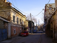 Astrakhan, Tikhiy alley, house 1. Apartment house