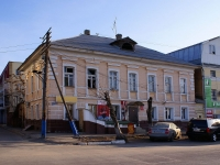 Astrakhan, Tikhiy alley, house 2. Apartment house