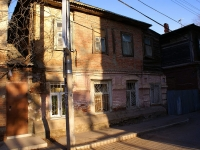 Astrakhan, Tikhiy alley, house 3. Apartment house