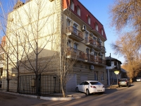 Astrakhan, Tikhiy alley, house 6. Apartment house