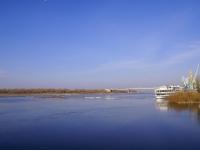阿斯特拉罕, река ВолгаKomsomolskaya naberezhnaya st, река Волга