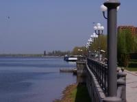 Astrakhan, st Komsomolskaya naberezhnaya. embankment