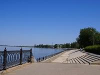 Astrakhan, embankment КомсомольскаяKomsomolskaya naberezhnaya st, embankment Комсомольская