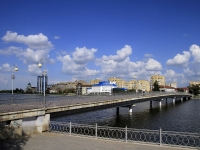 Astrakhan, Donetskaya st, bridge